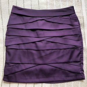 Purple Forever 21 Skirt